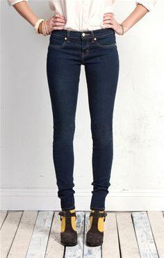 Super Skinny Ankle in Warehouse #denim #jeans #fashion