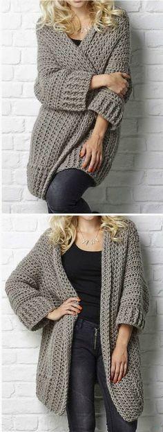 Oversized Chunky Sweater Crochet Patterns