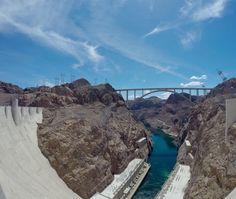 The Colorado River Bridge, next to the Hoover Dam, is an engineering wonder by its own #HooverDam #Arizona #Nevada #USA #RTW #JulesVernex2
