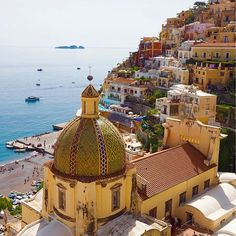 Positano, Italy.-