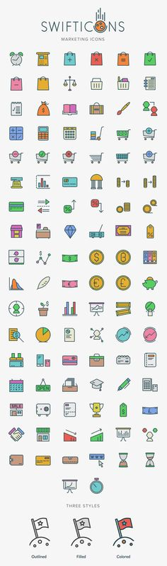 Free Marketing Icons - 100+ Icons