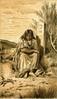 American Indian's History: Native American Grave Posts of the Sioux and Chippewa Indians