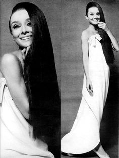 Audrey Hepburn photographed by Cecil Beaton for Vogue, 1964.  Dressed in Givenchy.