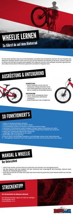 Wheelies lernen leicht gemacht  #Wheelie #Radfahren #Sport #Fahrrad #Sport #Hobby #Mountainbike bikeparkshop