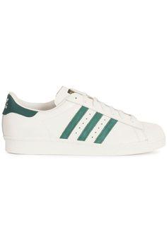 Musthave Adidas Superstar 80s (wit) Heren sneakers van het merk adidas . Uitgevoerd in wit.