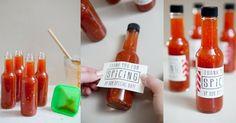 DIY: Como fazer molho de pimenta para lembrancinhas