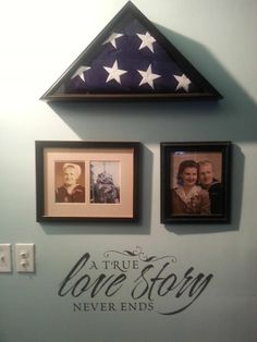Honor your loved ones in a creative way.  A True Love Story Never Ends
