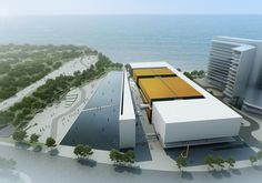 Image 3 of 10 from gallery of BIAD's Proposal for Shekou Sea World Culture and Arts Center. Courtesy of 2A2 Design Department, BIAD