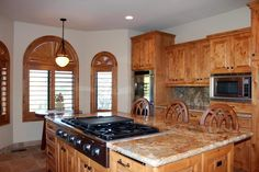 Stove and Oven - 203 Bristlecone Pines Rd, West Sedona, Listed with Rob Schabatka from RE/MAX Sedona.