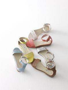 Boden Flora Sandals.