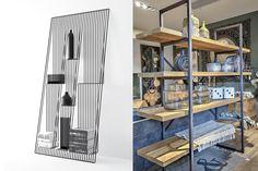 #DecoTips 17 ideas de cómo poner estantes de metal en casa #decoración