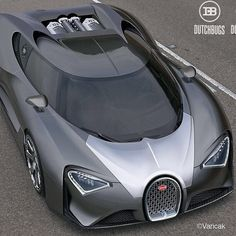 "Not a huge fan of the ""Bug"" but the Bugatti Chiron looks insane!"