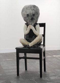 Klara Kristalova, She's got a good head 2010 Courtesy: Galerie Perrotin, Hong Kong & Paris