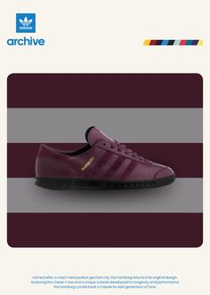 ADIDAS ARCHIVE HAMBURG BLOG RED Football Casual Clothing, Snicker Shoes,  Adidas Runners, Mens Trainers, Size Blog 96b0ec643c