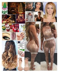 """💖Carola💖 Christmas Party"" by carolalink ❤ liked on Polyvore featuring Kylie Cosmetics, Stuart Weitzman, BERRICLE, Mark Broumand and River Island"
