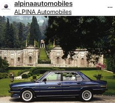 Limited Editions have a long history at ALPINA. This is the BMW ALPINA S Turbo. Built for only 60 connaisseurs and only in… Golf Mk1, Bmw E24, Bmw Alpina, Bmw Classic Cars, Bmw 5 Series, Car Photography, Exotic Cars, Vintage Cars, Cool Cars