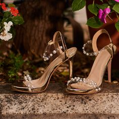 This season sexy choice is the golden high heeled sandal with pearls! World ► Cyprus ► Retro Summer, Gold Sandals, Cyprus, Shop Now, Campaign, Loafers, Pumps, Pearls, Boots