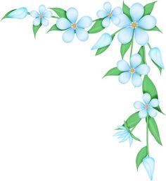 Flower Border Clip Art | Flower Corner Borders - ClipArt Best