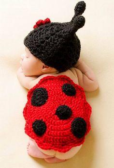 Handmade Newborn Infant baby Boy Girl Animal Beanie Cap photography props  Headdress Flower ladybug knitted hat Cashmere 0-6Month fcbcc05671c9