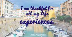 I'm #Thankful for Al     I'm  #Thankful  for All My  #LifeExperiences .  #PositiveAffirmation   https://www.pinterest.com/pin/445082375652232611/   Also check out: http://kombuchaguru.com