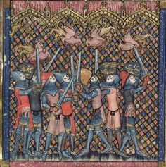 Bodleian Library MS. Bodl. 264, The Romance of Alexander in French verse, 1338-44; 81v
