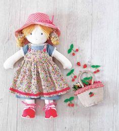 cloth doll patterns free - AOL