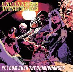 Marvel does it again with Hip Hop Covers - Uncanny Avengers x Public Enemy