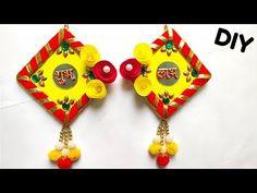 Home Crafts, Arts And Crafts, Paper Crafts, Diy Crafts, Diy Wall Art, Wall Art Decor, Diwali Decoration Items, Diwali Craft, Art N Craft