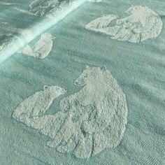 DIDYMOS-Babytragetuch Eisbär arktisch