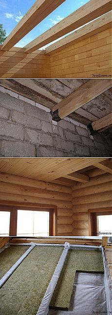 Чердачное перекрытие по деревянным балкам | Сайт о строительстве и ремонте