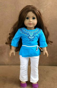 American Girl Molly Light Skin Body Arms Legs 18/'/' for parts custom OOAK doll