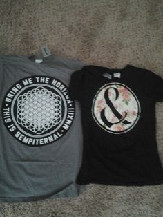 Yay! I got some new band merch :D