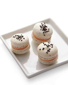 Smoked Salmon and Sesame Seed Macaron Recipe - From Dainty Delicacy to Wedding Must-Have: Tracing the Evolution of French Macarons