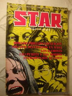 REVISTA COMIC STAR. COMIX Y PRENSA MARGINAL. Nº 25