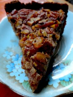 Paleo Pecan Pie Fine for FODMAP diet but does have maple syrup ...