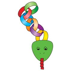 Slinky Link Snake   Craft   The Mailbox