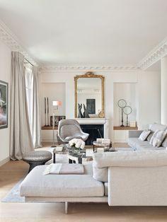 D co pastel glamour un appartement de rose et d 39 or - Appartement decoration design glamour vuong ...