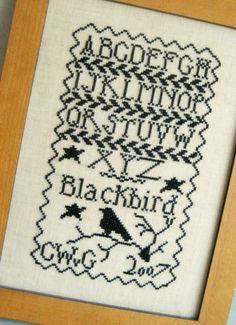 ... Corrie schrijft op ...: Blackbird Design freebie