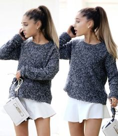 ariana is goals Ariana Grande Selena Gomez, Ariana Grande Pictures, Beautiful Voice, Beautiful Person, Dangerous Woman, Celebs, Celebrities, Baby Love, Her Style