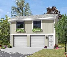 2 Car Garage Apartment - 57064HA | Carriage, 1st Floor Master Suite, PDF | Architectural Designs