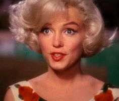 *Marilyn Monroe 1962    still from unfinished film ''Something's Got to Give''