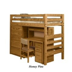 Classic Solid End Convertible Bunk Bed by this end up We actually