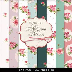 New Freebies Kit of Backgrounds - Aroma Roses:Far Far Hill - Free database of…