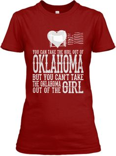 Oklahoma girl!