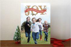 #11. Rustic Joy by @Kristy Lumsden Kapturowski from Berkeley, CA. Announcing @Minted #Holiday2012 design challenge winners.