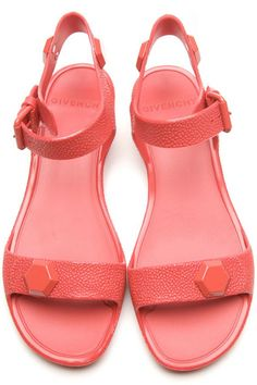 Givenchy sandals. fun for the summer...