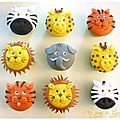 Cupcakes de la savane