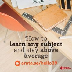 How to learn any subject and stay above average http://arata.se/hello39 __________________________________________________________________________ #ArataAcademy #ArataAcademyENGLISH #edtech #elearning #instadaily #Mastery #PhotoOfTheDay #PicOfTheDay #Productivity #SeiitiArata #SelfDevelopment #Learn #Subject #aboveaverage #success