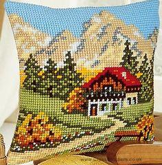 cushion cross stitch ile ilgili görsel sonucu