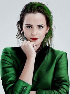 Slytherin Hermione in fashion ;)
